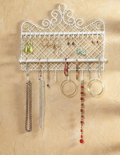 Wall Mounted Jewelry Hanger By Collections Etc