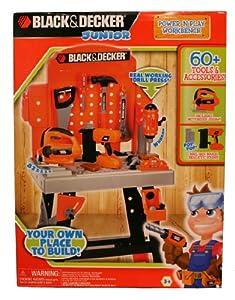 Amazon Com Black Amp Decker Junior Power N Play Workbench