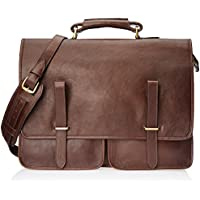 Hidesign Parma - Brown Leather Laptop Bag