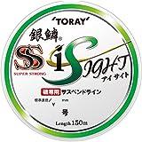 東レ(TORAY) ライン 銀鱗スーパーストロングアイサイト 150m 1.5号 ライトグリーン