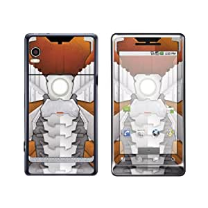 Exo-Flex Protective Skin for Motorola DROID 2 - Suitcase Suit Sand