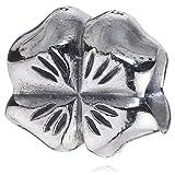 """Pandora Damen-Bead  Sterling-Silber 925 Kleeblatt KASI 79157von """"Pandora"""""""