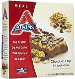 Atkins Advantage Bar Chocolate Chip Granola -- 5 Bars