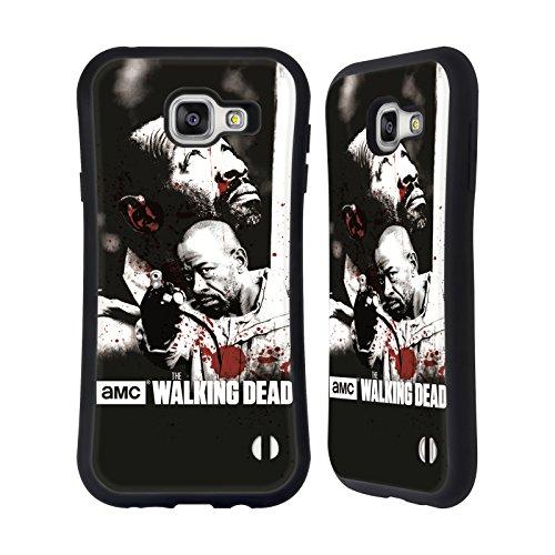 Ufficiale AMC The Walking Dead Morgan Sangue Case Ibrida per Samsung Galaxy A7 (2016)