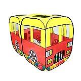 [Signstek]室内 室外 子供用遊具テント 子供テント キッズテント バス仕様