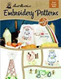 Aunt Martha's Farm Living Embroidery Transfer Pattern Book, Over 25 Iron On Patterns