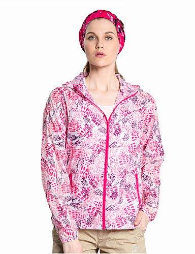 EIK Esterno Per donna Top / Giacca di pelle / Giacche a ventoCampeggio e hiking / Pesca / Spiaggia / Ciclismo / Sci di fondo / Sci fuoripista , sky blue , xxl