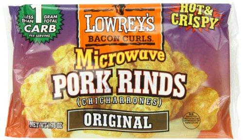 Lowrey S Bacon Curls Microwave Pork Rinds Chicharrones