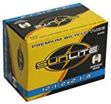 Sunlite Bicycle Tube 12 1/2 x 2 1/4 SCHRADER Valve