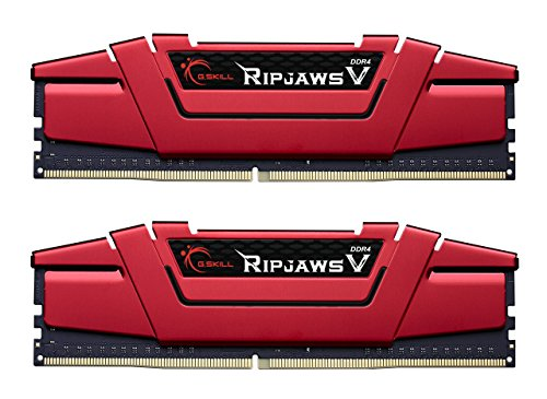 G.Skill Ripjaws V - DDR4 - Memoria RAM 16 GB : 2 x 8 GB - DIMM 288-PIN - 2400 MHz / PC4-19200 - CL15