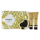 Bebe Gold 4 Piece Gift Set for Women
