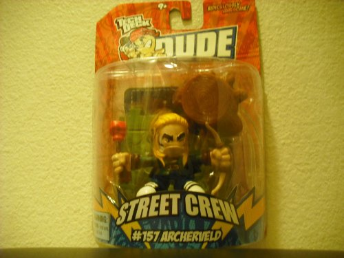 Tech Deck Dude Ridiculously Awesome Street Crew #157 Archerveld (2008) - 1