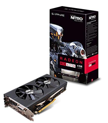 Sapphire Technology Nitro+ Carte graphique ATI Radeon RX 470 4 Go GDDR5 1246 MHz PCI Express