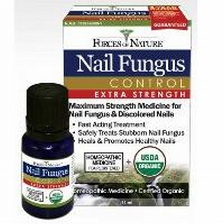 Forces Of Nature Organic Nail Fungus Control - Extra Strength - 11 Ml
