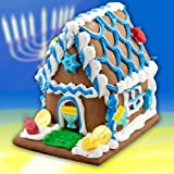 Chanukah Gingerbread House - 3 lb - by Best Cookies
