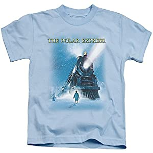 Polar Express 2004 Animated Adventure Fantasy Movie Train Pick-Up Juven T-Shirt by Polar Express