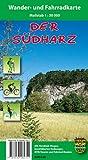 Der Südharz: Wander- und Fahrradkarte