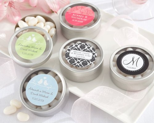Kate Aspen Simply Sweet Round Personalized Candy