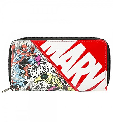 Marvel Comics Zip Up Wallet