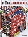 Problèmes économiques n° 3077 : Bilan de l'économie mondiale 2013 par La Documentation Française