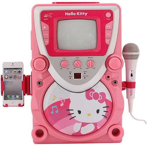 Hello Kitty 68109 Super Karaoke with Cam (Karaoke Machine With Camera compare prices)
