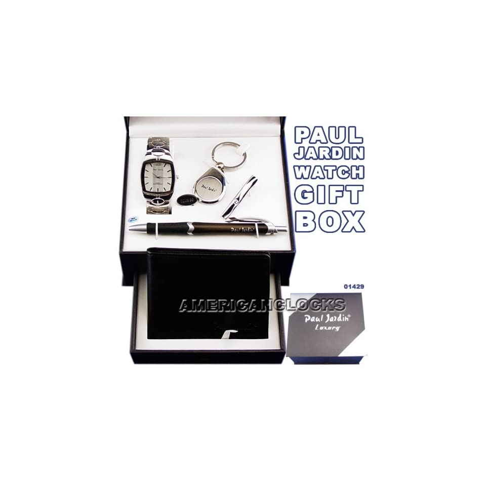 Paul Jardin Mens Watch Money Clip & Wallet Luxury CollectionSports Watch & Atomic RC Watches Also Available.