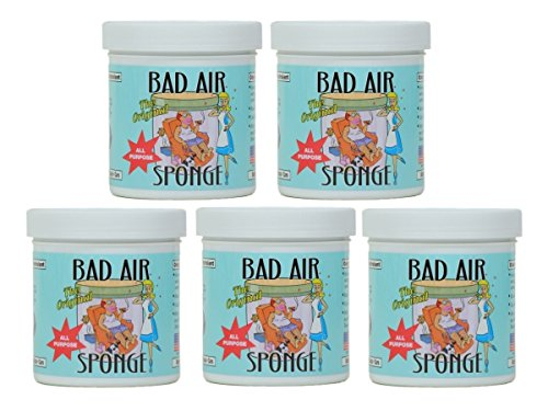 Bad air sponge odor neutralant neutralizes and absorbs odors 14oz (Pack of 5) (Bad Drawings compare prices)