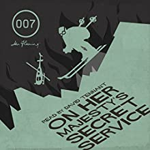 On Her Majesty's Secret Service (with Interview) Audiobook by Ian Fleming Narrated by David Tennant