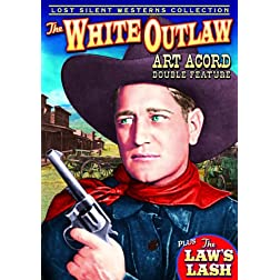 Western Double Feature: White Outlaw 1929-Silent/ Laws Lash Klondike the Wonder Dog 1928-Silent