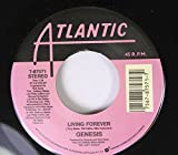 Genesis 45 RPM Living Forever / No Son of Mine