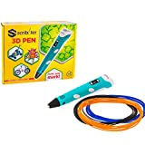 Scribbler 3D Pen V2 New Updated Model 3D Printing Pen 3D Drawing Pen With LED Screen Different Color