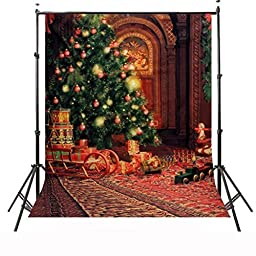 CAMTOA 7x5ft Christmas Pictorial cloth Customized photography Backdrop Background studio prop