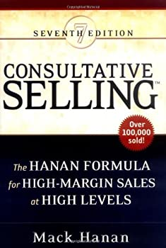 "Cover of ""Consultative Selling: The Hanan..."
