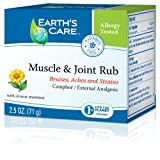 Earths Care Muscle And Joint Rub - 2.5 Oz