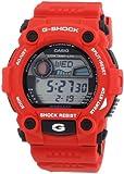 CASIO G-7900A-4Er - Reloj de caballero de cuarzo, correa de resina color rojo