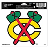 "Chicago Blackhawks Official NHL 4.5""x6"" Car Window Cling Decal by Wincraft at Amazon.com"