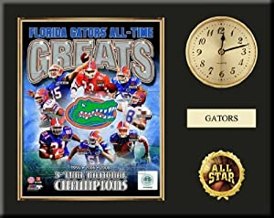 Florida Gators All Time Greats Team Composite Photo Inserted In A Gold Slide In Frame... by Art and More, Davenport, IA