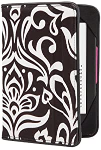 BUILT Kindle Slim Folio Cover for Kindle and Kindle Paperwhite, Damask Design from Built (Kindle Accessories)