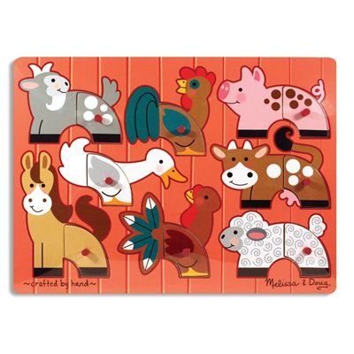 Cheap Melissa & Doug Farm Mix N Match Puzzle (B000GL1DJU)