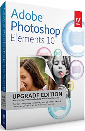 Adobe Photoshop Elements 10 Upgrade