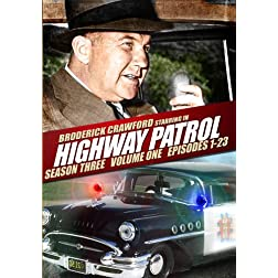 Highway Patrol: Season 3 - Volume One (Episodes 1 - 23) - Amazon.com Exclusive