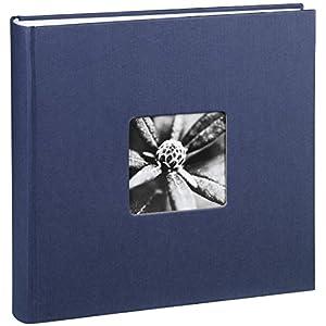 "Hama Jumbo Fotoalbum ""Fine Art"" 30 x 30 cm, 100 Seiten (50 Blatt), mit Ausschnitt fü"