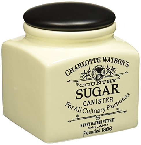 Charlotte Watson Square Small Sugar Canister