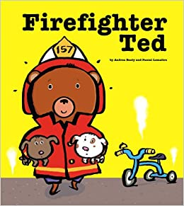 Firefighter Ted (English and English Edition): Andrea Beaty, Pascal