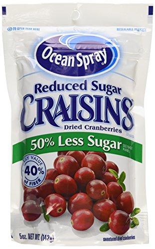 Ocean Spray Reduced Sugar Craisins Dried Cranberries 5 Oz.(Pack of 6) (Ocean Spray Dried Cranberries compare prices)