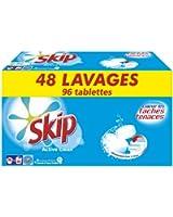 Skip lessive tablettes Active Clean x96 48 lavages