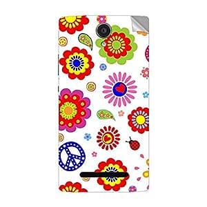 Garmor Designer Mobile Skin Sticker For OPPO U707T - Mobile Sticker