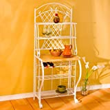 Southern Enterprises (SEI) BE1233T - Trellis Baker's Rack