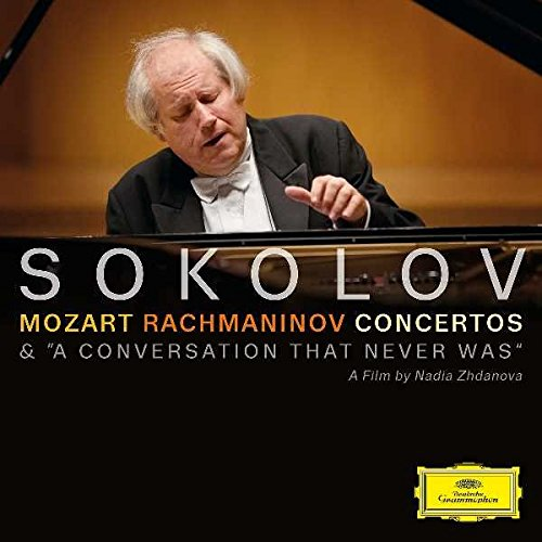 CD : Grigory Sokolov - Mozart / Rachmaninoff: Concertos a Conversation (With DVD, 2 Disc)