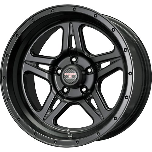 Level 8 Strike 5 Matte Black Wheel (17x9/5x127mm)